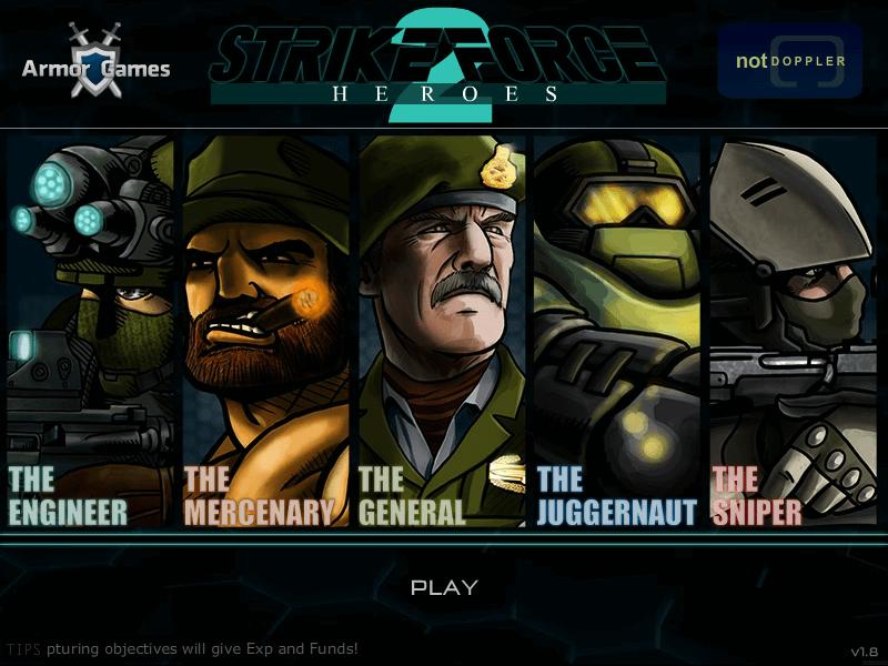Играть strike heroes 2